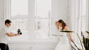 Chasing Mozart Filming Bride